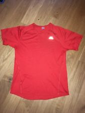 Rotes Sport-T-Shirt Top Herren Run Fitness Kalenji Decathlon Gr L
