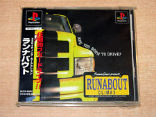 PS1 / Playstation - Runabout by Climax + SPINE CARD / Japanese