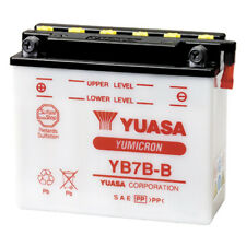 NEW 12V7AH 124CCA YUASA Motorcycle Battery YB7B-B