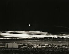 1944/72 Vintage ANSEL ADAMS Moonrise Hernandez New Mexico Landscape Photo 11X14