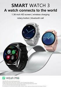 Elegant Smartwatch Waterproof Smart Watch Heart Rate Fitness Tracker ios Android