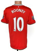 MANCHESTER UNITED 2011/2012 HOME FOOTBALL SHIRT NIKE SIZE M ADULT ROONEY #10