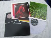 PINK FLOYD LP DARK SIDE OF THE MOON rare French clear vinyl dc 13 + 2 posters