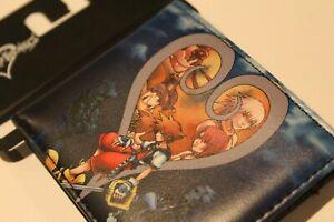 New Disney Kingdom Hearts Billfold Bifold Wallet