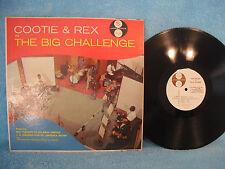 Cootie & Rex In the Big Challenge, Jazztone J 1268, 1957, Freeman Vs Hawkins