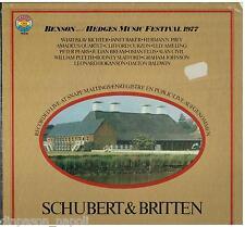 Schubert & Britten: Benson & Hedges Festival 1977 / Richter, Amadeus, Curzon LP
