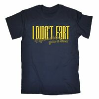 I Didn't Fart Blew You A Kiss T Shirt slogan tee gift funny sarcasm rude toilet