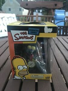 New Fun 4 All  Simpsons Itchy and Scratchy Character Candle