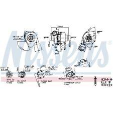Nissens Turbolader Lader Aufladung Turbo 93257