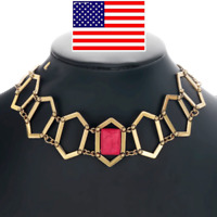 US Game of Thrones Melisandre Inspired Choker Necklace Replica Halloween Cosplay