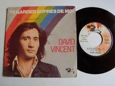 """DAVID VINCENT: Te garder auprès de moi / Pour les vacances 7"""" 45T BARCLAY 61.783"""
