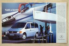 C230-Advertising Pubblicità-1998- MERCEDES BENZ VITO