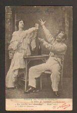 """BILLET DE LOGEMENT """"UNE ABSINTHE , MON COMMANDANT"""" par NADAR en 1903"""