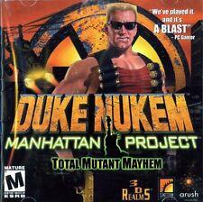 DUKE NUKEM MANHATTAN PROJECT 3d action shooting new in case PC CD Win7 Win 7