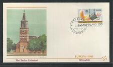 FINLAND # 679-680  EUROPA 1983 FLEETWOOD FIRST DAY COVER