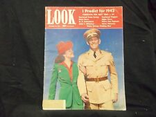 1941 DECEMBER 30 LOOK MAGAZINE - GREAT PHOTOS AND ADS - ST 1495