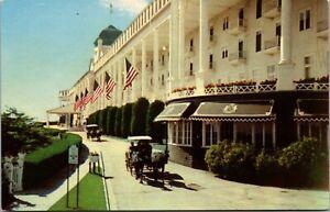 5 Grand Hotel Mackinac Island Michigan Built 1887 Postcard
