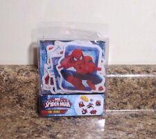 Marvel Ultimate Spider-Man Bath Tub Treads Non Slip Sticker Applique Set NEW