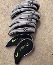 10PCS Black Nike Vapor Golf Club Iron Covers HeadCovers Short Zipper Quality