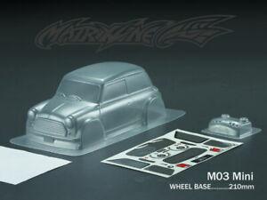 1:10 Tamiya Mini Body M03 Chassis - Clear