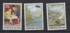 NORFOLK ISLAND MNH STAMP SET 1987 BICENTENARY OF SETTLEMENT 4TH ISSUE SG 433-435