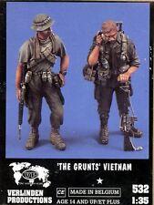 Verlinden 1:35 the Grunts Vietnam 2 Resin Figures Kit #532