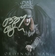 OZZY OSBOURNE ORDINARY MAN CD HAND SIGNED AUTOGRAPHED RARE IN PERSON BY OZZY!