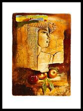 Joadoor Ramose in Thebe Poster Bild Kunstdruck mit Alu Rahmen in schwarz 40x30cm