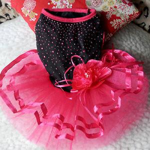 Pet Dog Puppy Dress Skirt Princess Clothes Apparel Clothes Apparel Mystic Novelt