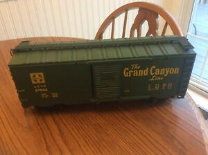 LJR- LIONEL LARGE SCALE BOX CAR #87002, THE GRAND CANYON LINE!!!