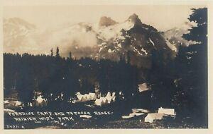 RP: Rainier National Park, Washington, 1910-30s ; Paradise Camp