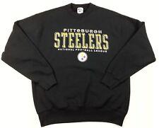 Pittsburgh Steelers vintage Pro Player Mens sweatshirt XL X Large NFL Football