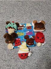 Disney Parks Wishables Food Series Plush Full Snack Set Brand New