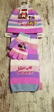 3 Teiliges Winterset Minnie Mouse Mütze,Handschuhe Schal