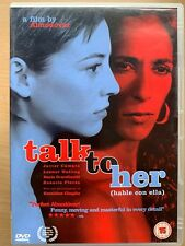 Talk to Her Dvd 2002 Almodovar Spanish Drama Film Movie Classic