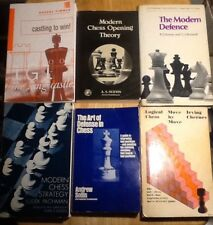 Chess Board Game Book Lot Opening Theory Castling To Win Defense Strategy, Moves