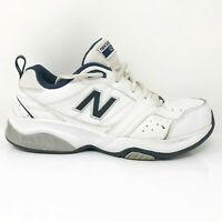 New Balance Mens 623 MX623WN2 White Running Shoes Lace Up Low Top Size 9 4E