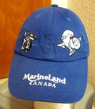 MARINELAND Canada baseball hat killer whale cap embroidery Niagara Falls dolphin