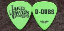 Jake Owen 2012 Summer Never Ends Tour Guitar Pick! David Wallace custom stage