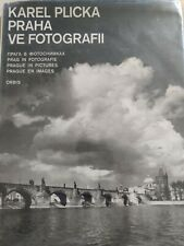 PRAHA by Karl Plicka Ve Fotografii Photos ( Out Of print.1960) Photography *