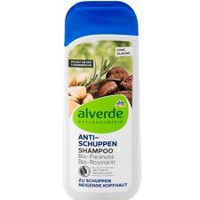 Shampooing anti pelliculles Alverde Bio Vegan au Romarin & noix du Brésil 200 ML