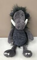 Jellycat Snagglebaggle Walter Warthog Comforter Baby Soft Toy Soother Grey