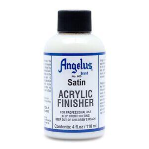 Angelus Finisher Satin 118ml (105,93€/1L) für Lederfarbe - schützt akzentuiert
