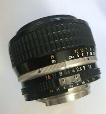 nikon 50mm 1.2 ais w/ B+W MRC f-pro UV-haze filter, front/rear cap Exc condition