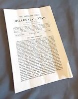 Millenial Star July 25 1912 LDS Mormon News Pamphlet Booklet