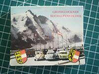 ancienne pochette 10 photos Grossglockner Hochalpenstrasse  années 50 - Autriche