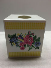 Chelsea floral plastic tissue cover