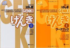 New! GENKI 1 An Integrated Course in Elementary Japanese Textbook + Workbook Set