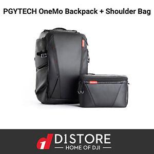 PGYTECH OneMo Backpack 25L + Shoulder Bag (Twilight Black) Drone Bag Aus Stock