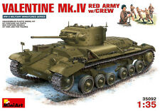 Miniart 1/35 Valentine Mark IV in Red Army service with Crew #35092 *Sealed*